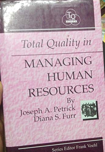 9788175140134: Total Quality in Managing Human Resources