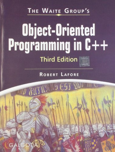 Object-Oriented Programming in C++, Third Edition: Robert Lafore