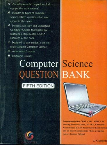 9788175155152: Computer Science Question Bank