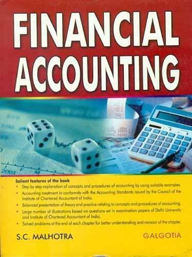9788175155633: Financial Accounting