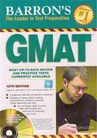 Barron'S Guide To Gmat,15/Ed 2010: Sharon Weiner Green