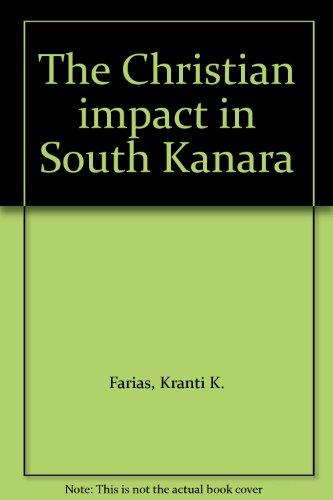 9788175251250: The Christian impact in South Kanara