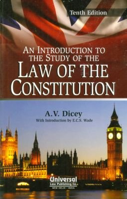9788175341029: An Introduction to the Study of the Law of the Constitution