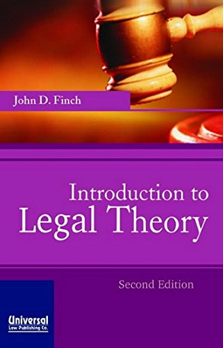 9788175341616: Introduction to Legal Theory