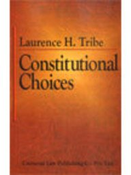 9788175341739: Constitutional Choices