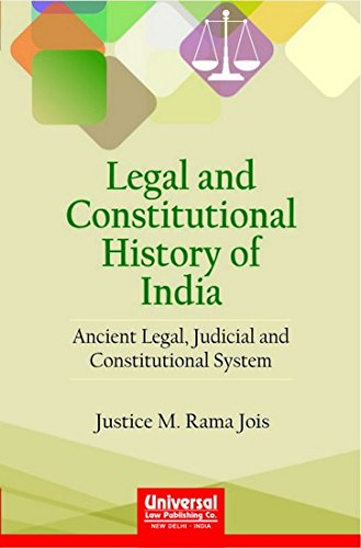 Legal and Constitutional History of India -: RAMA JOIS JUSTICE