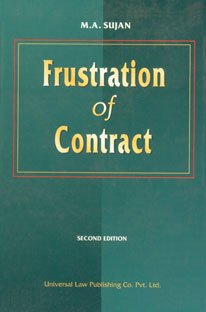 9788175342163: Frustration of Contract