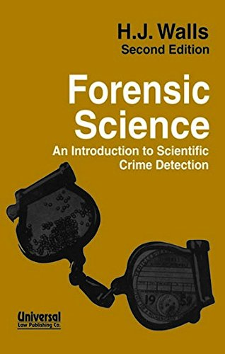 9788175342927: Forensic Science - An Introduction to Scientific Crime Detection
