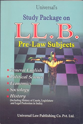 9788175343443: Universal's Study Package on LLB - AbeBooks: 8175343443