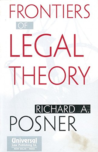 9788175345430: Frontiers of Legal Theory