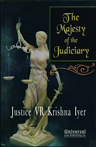 9788175346307: The Majesty of the Judiciary