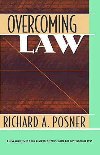 Overcoming Law: Posner, Richard
