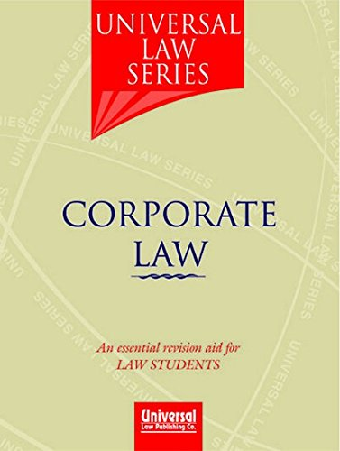 9788175348288: Corporate Law (Universal Law Series)