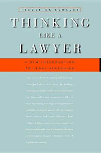 9788175349643: Thinking Like A Lawyer