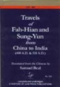 9788175363823: Travels of Fah-Hian and Sung-Yun from China to India: 400 A.D. & 518 A.D.