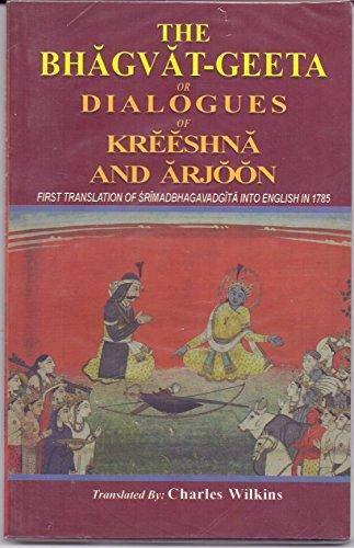 9788175365544: Bhagvat-Geeta, or, Dialogues of Kreeshna and Arjoon
