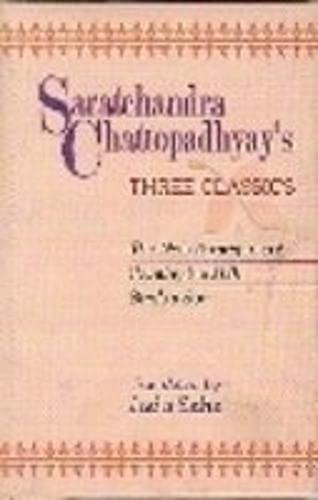9788175414037: Saratchandra Chattopadhyay`s: Three Classics
