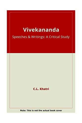 Vivekananda: Khatri C.L.