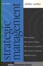 Strategic Management, 2/e: Philip Sadler