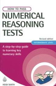 9788175543317: How to Pass Numerical Reasoning Tests, Revised ed.