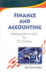 Finance and Accounting: Issues and Perspectives for: Nand Kishore Sharma