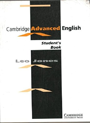 9788175960466: Cambridge Advanced English: Student's Book Guwahati University