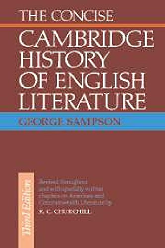 The Concise Cambridge History of English Literature: George Sampson