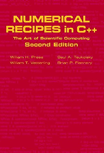 Numerical Recipes in C++: The Art of Scientific Computing (Second Edition): Brian Flannery,Saul A. ...