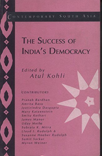 9788175961074: The Success of India's Democracy