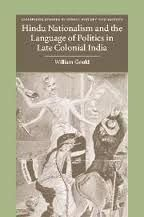 9788175962514: Hindu Nationalism and the Language of Politics in Late Colonial India
