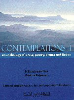 Contemplations I: an anthology of prose, poetry,: P. Bhaskaran Nair