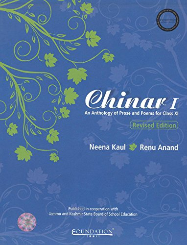 CHINAR - I : AN ANTHOLOGY OF