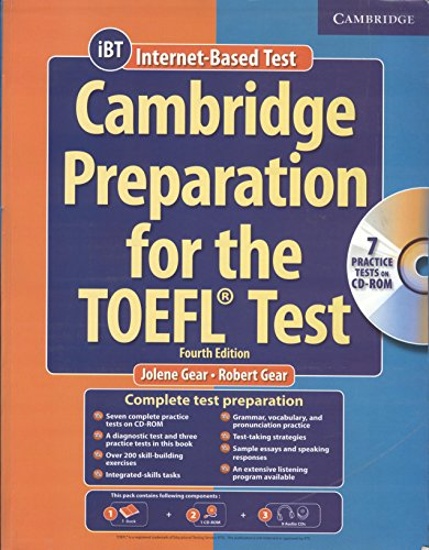 Cambridge Preparation for the TOEFL Test (Fourth Edition): Jolene Gear & Robert Gear