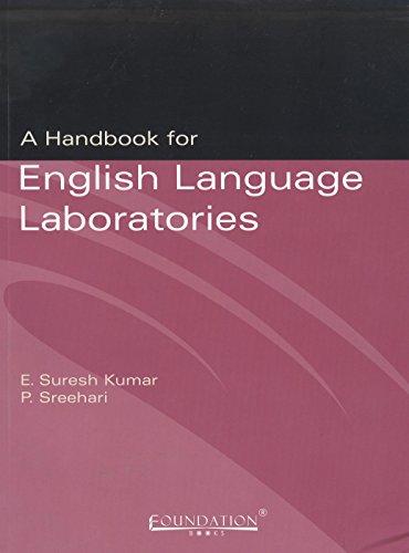 9788175964952: A Handbook for English Language Laboratories