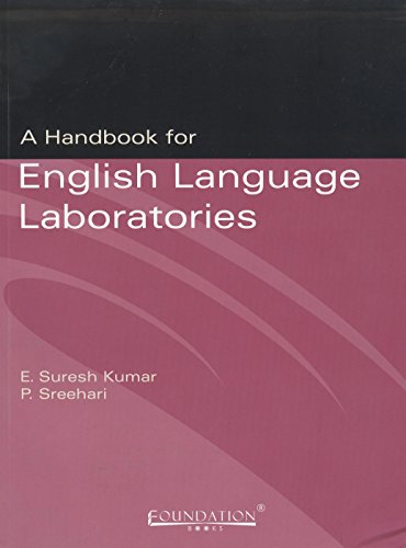 9788175964952: A Handbook for English Language Laboratories