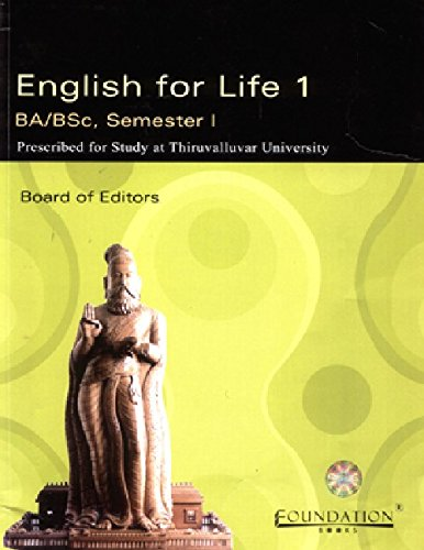 English for Life 1: B.A/ B.Sc, Semester: Cambridge University Press