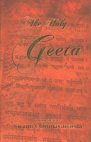 9788175970748: The Holy Geeta