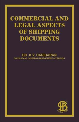 9788175980891: Commercial And Legal Aspects Of Shipping Documents
