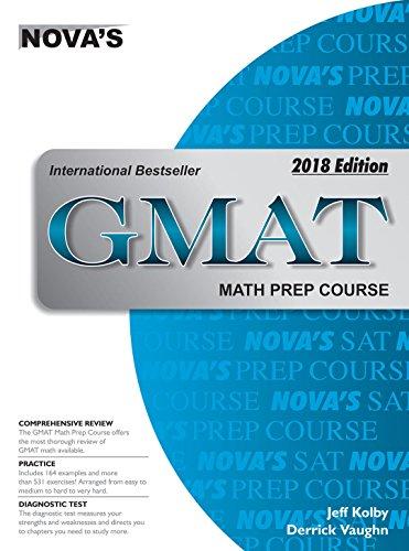 9788175994591: GMAT MATH PREP COURSE 2018 EDITION