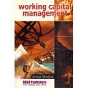9788176111409: Working Capital Management