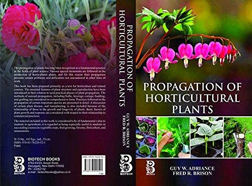 9788176220521: Propagation of Horticultural Plants