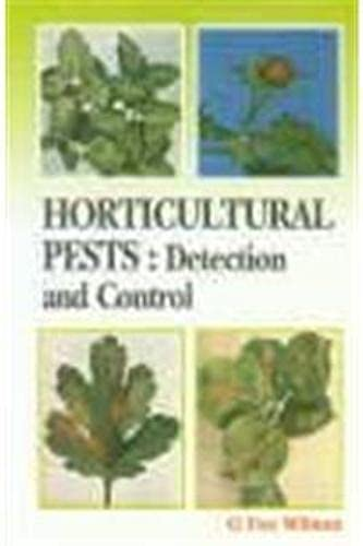 Horticultural Pests: Detection and Control: A.M. Massee,George Fox