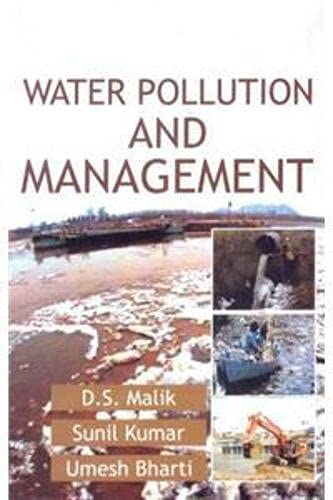 Water Pollution and Management (8176222275) by D. S. Malik; Sunil Kumar; Umesh Bharti