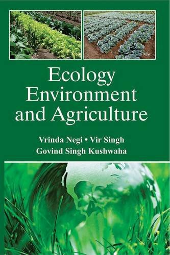 9788176223393: Ecology Environment and Agriculture