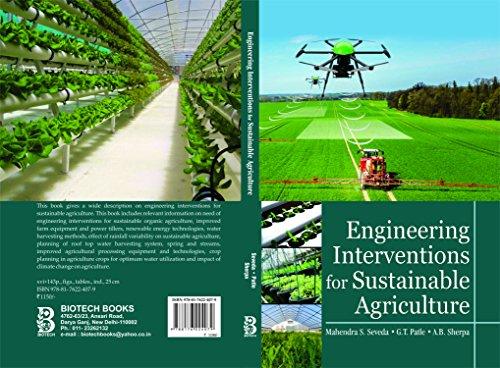 Engineering Interventions for Sustainable Agriculture: A.B. Sherpa, G.T.