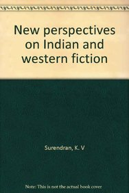9788176251129: New perspectives on Indian and western fiction