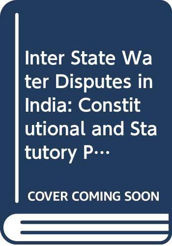 Inter-State Water Disputes in India: Rao Dooda Srinivasa