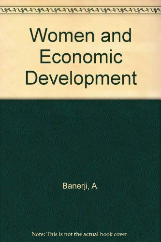 9788176292108: Women and Economic Development