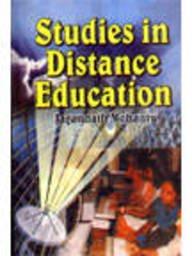 9788176292924: Studies in Distance Education