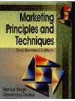 9788176294225: Marketing Principles and Techniques